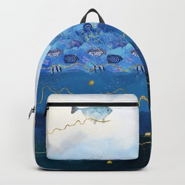Sky Fish - Warming Oceans and Sea Level Rising Backpack