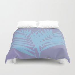 Palm Leaves #3 #Lilac #Blue #decor #art #society6 Duvet Cover