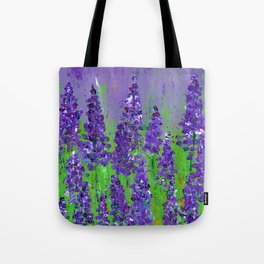 Fields of Lupine - Flowers Tote Bag