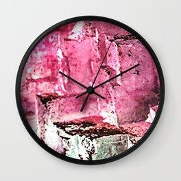 Purple Fluorite Wall Clock