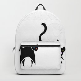 Black cats rule Backpack
