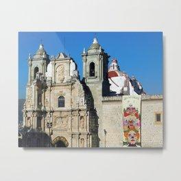 Historic Church Oaxaca City Mexico Metal Print