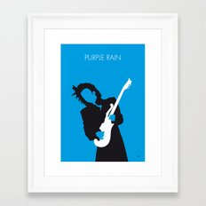 No009 MY PRINCE Minimal Music poster Framed Art Print