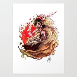 Hime Art Print