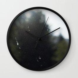 Light Through the Haze Wall Clock