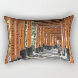Fushimi Inari-taisha Shrine, Kyoto Rectangular Pillow