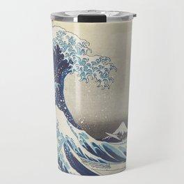 HD Original Great Wave Off Kanagawa Travel Mug