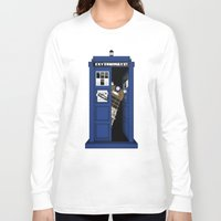 dalek Long Sleeve T-shirts featuring Dr. Dalek by AWOwens