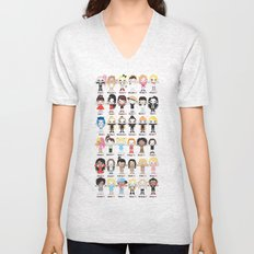 POP ROBOTICS Unisex V-Neck