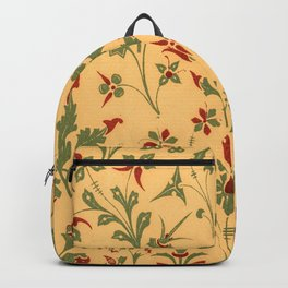 Floral Pattern Decor Ornaments Backpack