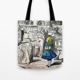 Blonde Girl Called Alice Tote Bag