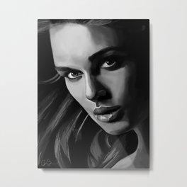 Elizabeth Swann Metal Print