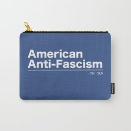 American Anti-Fascism - est. 1941 Carry-All Pouch