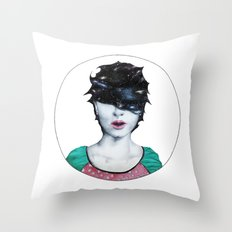 Space Dementia II Throw Pillow