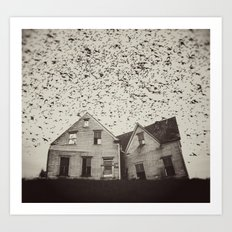 Home of Murmuration Art Print