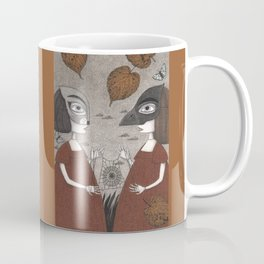 Ana and Eva (An All Hallows' Eve Tale) Coffee Mug