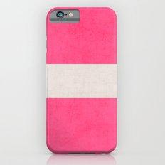 hot pink classic iPhone 6s Slim Case