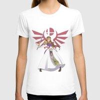 smash bros T-shirts featuring Smash Bros - Zelda by Emm Gee Art