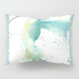 Blue Hummingbird Pillow Sham