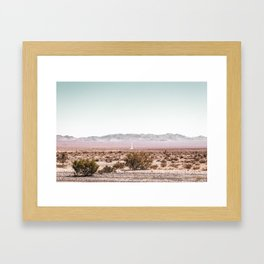 My cats would love this place. Framed Art Print