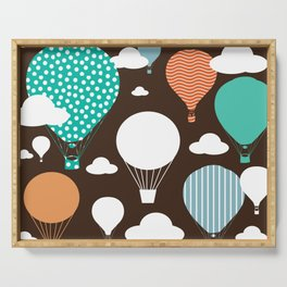 Hot air balloon chocolate Serving Tray