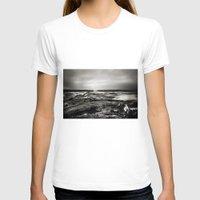 scotland T-shirts featuring Cramond, Scotland by Mara Brioni Art Photography
