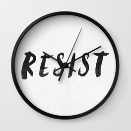 RESIST 4.0  #resistance Wall Clock