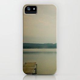 Herring Lake Dock iPhone Case