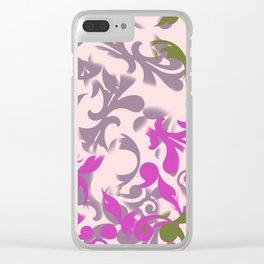 Fantasie eleganti Clear iPhone Case