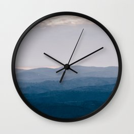 North Georgia Mountains 8 Wall Clock