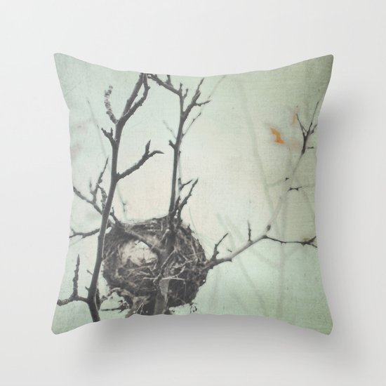 Empty Nest Throw Pillow