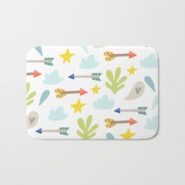 Kids Arrows Bath Mat