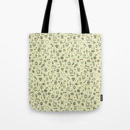 Doodles Pattern Tote Bag