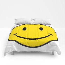 Smiley Happy Face Comforters