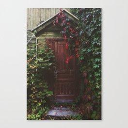 Secret Door Canvas Print