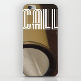 This Is A Call iPhone Skin