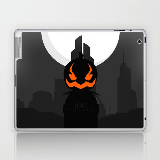 Brat Pumpkinhead Laptop & iPad Skin
