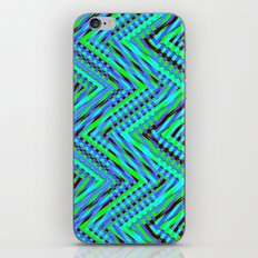 Chevron Blue iPhone & iPod Skin
