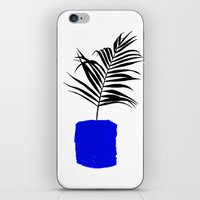 Blue Pot iPhone & iPod Skin