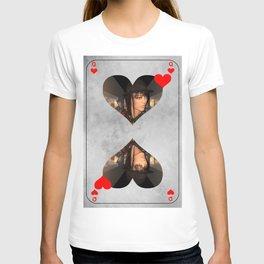 queen of hearts T-shirt