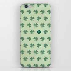 Lucky Clover Pattern iPhone & iPod Skin