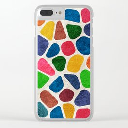 Mosaic Clear iPhone Case