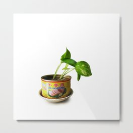 luncheon meat plant Metal Print