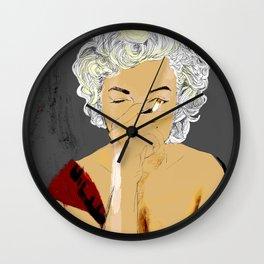 SmokingMonroe Wall Clock