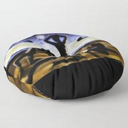 3 Women Floor Pillow