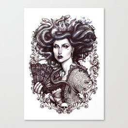 MEDUSA IMPERATRIX MUNDI Canvas Print