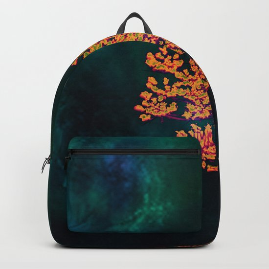 The flower in the Night Backpack