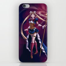Steampunk Pretty Soldier iPhone & iPod Skin