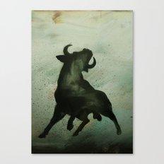 TRK - Bull Canvas Print
