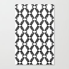 Plain KaleidoNope Canvas Print